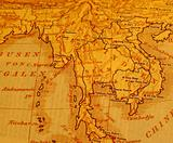 Antique Siam Map