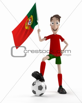 Portuguese soccer player