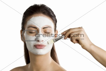 appling beauty mask