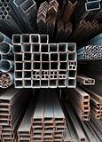 Metal pipes stack