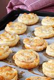 Puff pastry rolls
