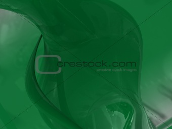 green glass background