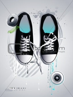 athletic shoes sneakers