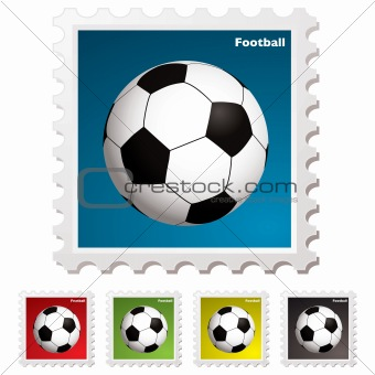 football world stamp