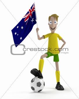 Australian soccer player