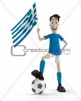 Greek soccer player
