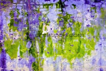 Abstract acid background - wall with mold stains