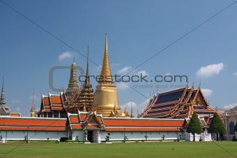 The Royal Palace in Bangkok,Thailand