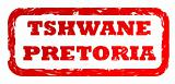 Used Tshwane Pretoria city stamp