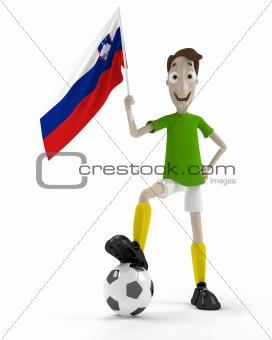 Slovene soccer player