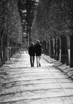 Pair in park