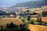 plateau de valensole alpes de haute provence france near st jurs