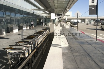 Carry cars in Airport