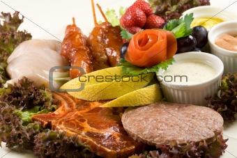 BBQ dish