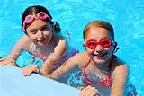 Girls children pool