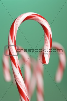 Candy canes.