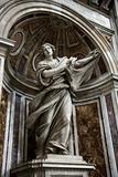 Saint Veronica statue inside Saint Peter's Basilica, Rome, Italy