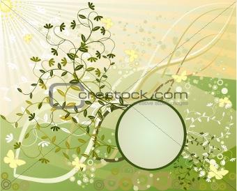 Abstract   frame, element for design, vector illustration