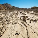 Desert landscape in Death Valley National Park.