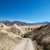 Dirt road in Death Valley.
