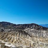 Land formations in Death Valley.