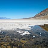 Badwater Basin in Death Valley.