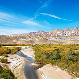 Stream in Cottonwood Canyon, Utah.