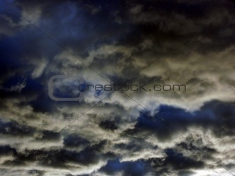 Abstract Dark Sky