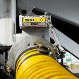 Diesel fuel hose.