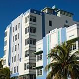 Art deco district of Miami, Florida, USA.