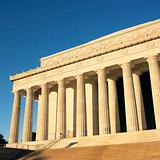 Lincoln Memorial in Washington, D.C., USA.