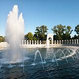 World War II Memorial in Washington, D.C., USA.