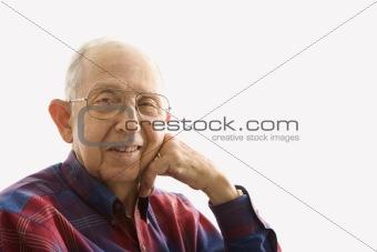 Portrait of elderly man.