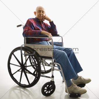 image 278687 elderly man in wheelchair from crestock stock photos