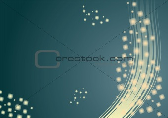 Abstract background with squares 1