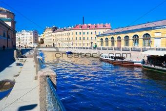 Canal in Saint Petersburg