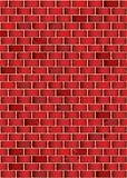 grunge red brick wall