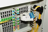 fiber optic cable management system