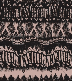 vintage abstract border pattern