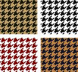 houndstooth fabric textile pattern