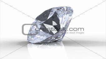 Diamond with shadows