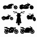 motorbike (vector)