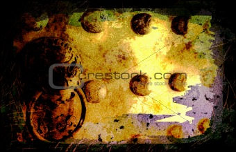 Asia Culture Abstract Background