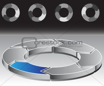Circle Chart Six