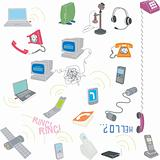 communication related illustrations