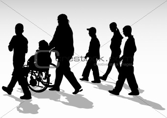 Disabled walk