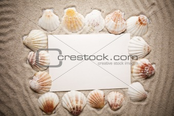 Messages between sands and shells