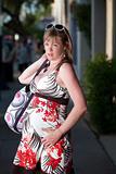 Uncomfortable pregnant woman