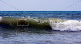 Wave in the ocean