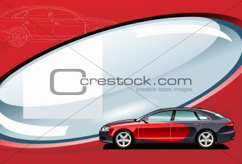 car - vector illustration.